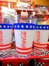 コカコーラ USAプラスティックタンブラー