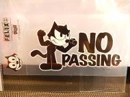 フィリックス デコステッカー 【NO PASSING】