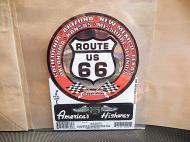 ROUTE66 ステッカー L 【A】