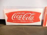 Coca-Cola(コカコーラ)ステッカー 【フィッシュ】