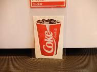 Coca-Colaステッカー 【CUP】