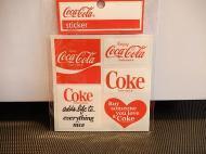 Coca-Colaステッカー 【B】