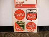 Coca-Colaステッカー 【A】