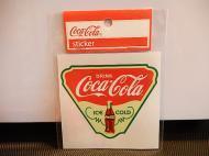 Coca-Cola(コカコーラ)ステッカー 【トライアングル】 【D】