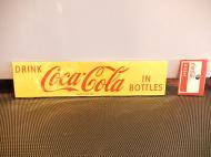 Coca-Colaステッカー 【YELLOW】 【D】