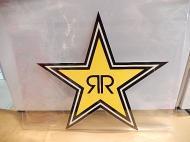 ROCK STARステッカー 【XL】
