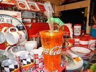 コカコーラ カラータンブラー 【オレンジ】