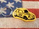 MOONEYES(ムーンアイズ)VW Bug バグ キーリング/黄色/イエロー/キーホルダー
