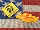 MOONEYES(ムーンアイズ)ボウタイ キーリング/黄色