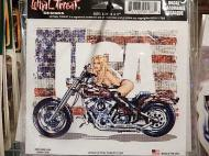 LETHAL THREAT PIN UP GIRL ステッカー 【MISS RIDE USA】