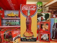 3Dメタルサイン コカコーラ 【Tasty together】