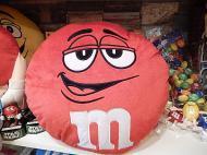 M&M'S ラウンドクッション 【レッド】