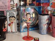 Betty Boop ワイングラス 【ハッピーバースデー】