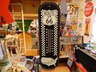ROUTE66 ウッドサーモメーター