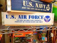 ミリタリーウッドクレート 【U.S.AIR FORCE】