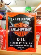3Dメタルサイン HARLEY-DAVIDSSON 【OIL CAN】