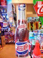 3Dメタルサイン 【PEPSI ボトル】