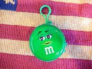 M&M'S TIN COIN CASE 【グリーン】