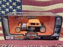 Ford×HARLEY DAVIDSON ミニカー【1929FORD MODEL A オレンジ】