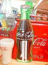 コカコーラ サーモメーター 【ボトル型 ウッド】