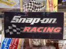snap-on アメリカンステッカー 【RACING】 (C)