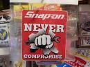 snap-on アメリカンステッカー 【NEVER スパナ】 (H)