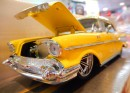 ミニカー 1957 CHEVY BEL AIR 【YELLOW】