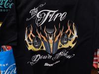 snap-on CHOKOTシャツ 【FIRE BELOW L】