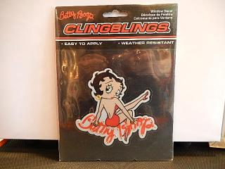 WINDOW DECAL CLINGBLINGS® 【Betty Boop】
