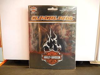 WINDOW DECAL CLINGBLINGS® 【HARLEY DAVIDSON】