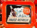 コカコーラ ティントレイ ICE COLD(PAUSE-REFRESH)Have a Coke