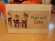 コカコーラ Brand Poster 【ENJOY A Float with COKE】