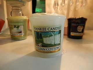 YANKEE CANDLE  samplers 【クリーンコットン】
