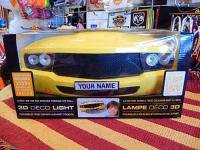 3D DECO LIGHTS 【MUSCLE CAR イエロー】