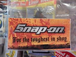 snap-on アメリカンステッカー 【For the toughest in shop】 (D)